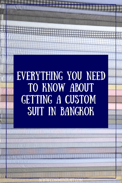 Everything You Need To Know About Getting A Custom Suit In Bangkok