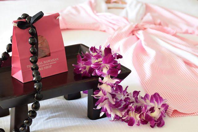 royal hawaiian hawaii pink robe