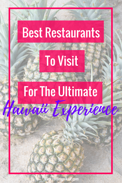 15 Restaurants To Visit In Hawaii