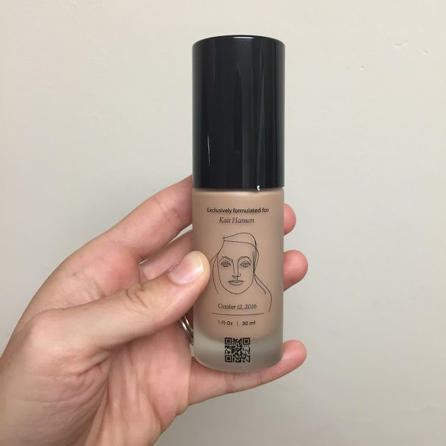 Foundation that matches your exact skin tone using an app!