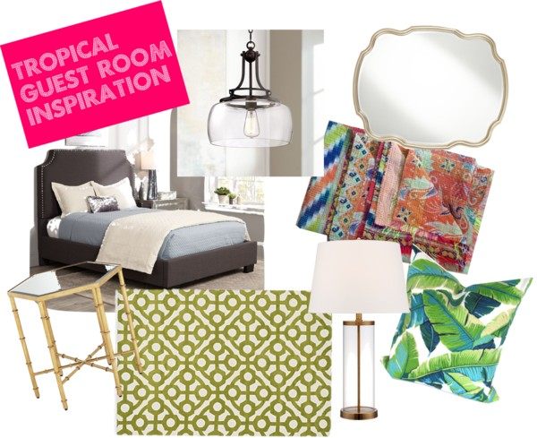 Tropical Guest Room Inspiration