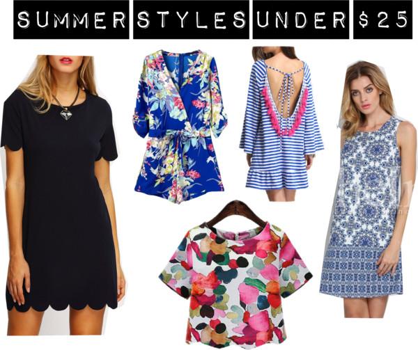 Summer Styles Under $25