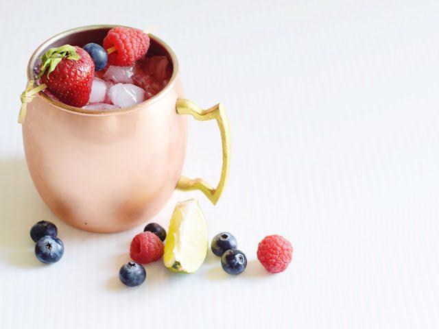 fruit cocktail mocktail