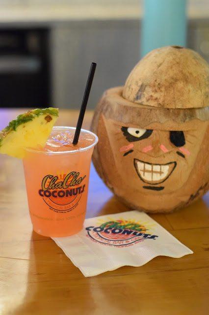 cha cha coconuts drink