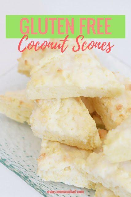 Gluten Free Coconut Scones